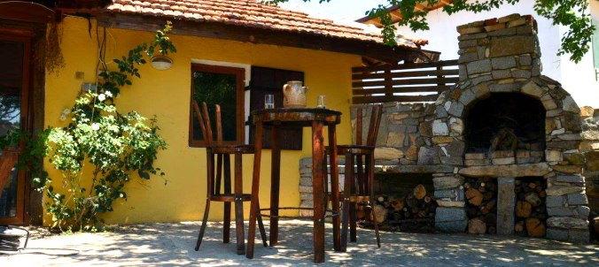 BBQ area Srem village Bulgaria